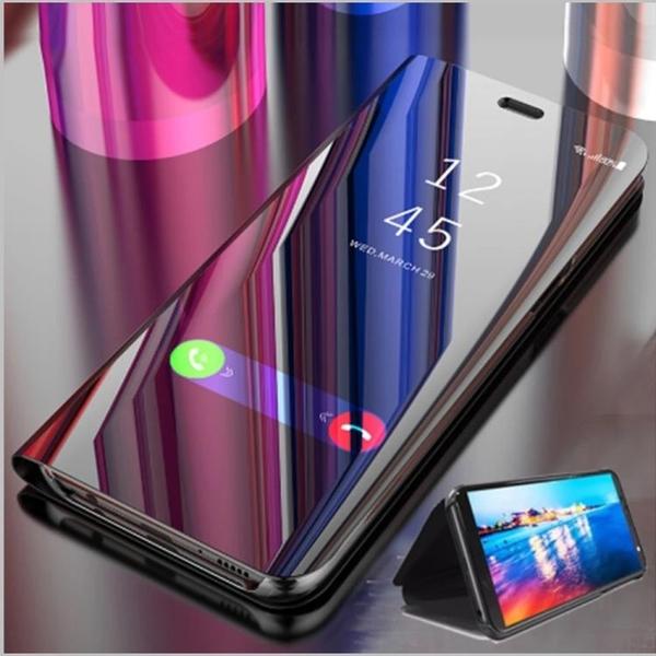 LG Velvet 5G 鏡面皮套 翻蓋全包 電鍍保護套 手機防摔款