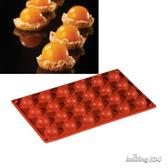 義大利 Pavoni 多連矽膠模 半圓造型 半圓形 半圓型 蛋糕模 慕斯模 果凍模 點心模 PV FR004