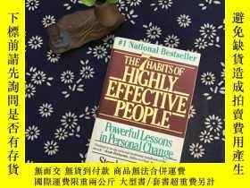 二手書博民逛書店THE罕見7 HABITS OF HIGHLY EFFECTIV