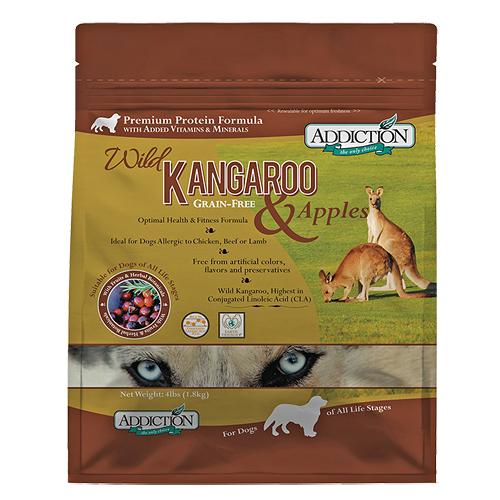【寵物王國】ADD自然癮食-無穀野生袋鼠全犬寵食454g