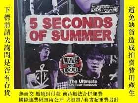 二手書博民逛書店5罕見Seconds Of Summer: Live And Loud: The Ultimate On Tour