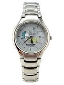 【卡漫城】 史奴比 手錶 飛行員 灰白 ㊣版 史努比 男女錶 Snoopy 不鏽鋼 糊塗褟客 日期功能