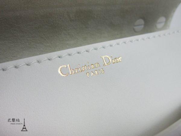 【巴黎站二手名牌專賣店】*現貨*Christian Dior 真品*J'ADIOR ULTRA MAT 白色小牛皮鍊包