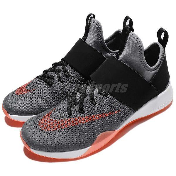 【五折特賣】Nike 訓練鞋 Wmns Air Zoom Strong 黑 灰 襪套式 魔鬼氈 女鞋 男鞋 運動鞋【PUMP306】 843975-006