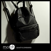 (24hr出貨) 歐美龐克鉚釘後背包 搖滾 時尚 街頭風格 素面 mo.oh