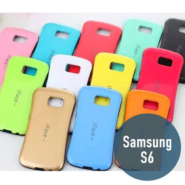 SAMSUNG 三星 S6 iFace波點 手機殼 保護殼 手機套 保護套 背殼 外殼