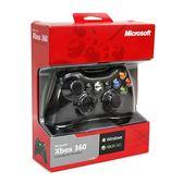 [哈GAME族]免運費●雙平台支援●微軟 PC/XBOX360 有線遊戲控制器 手把 黑色/白色 可搭配無線接收器