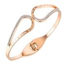 鈦鋼手環 時尚設計個性羅馬數字款鈦鋼流行手環