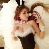 情趣內衣兔女郎激情套裝性感火辣兔子裝連體透視sm情制服小胸可穿   麥吉良品