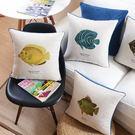 時尚簡約清新魚類抱枕 靠墊 沙發裝飾靠枕...
