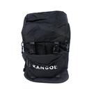 KANGOL 後背包 附可拆腰包 大容量 黑色 6125174120 noH35