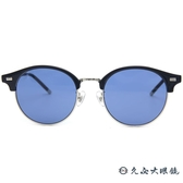 LASH 墨鏡 SOBER NV05 (藍-銀) 眉框 韓國 太陽眼鏡 久必大眼鏡