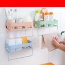 浴室架衛生間置物架壁掛浴室吸壁式廁所收納架吸盤洗漱臺免打孔用具用品 智慧 618狂歡