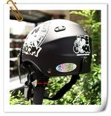 林森~雪帽,史奴比安全帽,K825,#2/消光黑,附抗UV-PC安全鏡片
