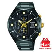 ALBA 雅柏錶 劉以豪  **聖誕限定款**  街頭酷炫時尚腕錶 VD57-X087SD / AM3403X1 -黑金