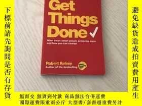 二手書博民逛書店get罕見things done What Stops Smart People Achieving More a