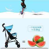 小孩兒童傘車簡易折疊便攜式迷你四輪手推車