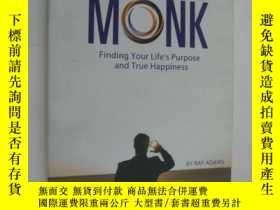 二手書博民逛書店作者簽名本罕見The suited monk:Finding y