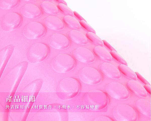 【瑜珈滾輪33公分】EVA顆粒/空心/中空瑜珈柱/指壓瑜珈棒/按摩滾輪/狼牙棒滾筒