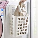 洗衣籃 髒衣籃 塑料籃 壁掛式 收納筐 ...