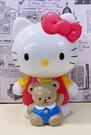 【震撼精品百貨】Hello Kitty 凱蒂貓~三麗鷗 KITTY 拉震玩偶玩具-紅#15693
