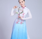 演出服古典舞演出服女飄逸成人風箏誤中國風傘舞扇子舞服裝民族舞蹈服 雙十二交換禮物