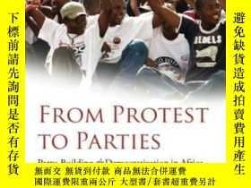 二手書博民逛書店From罕見Protest To Parties: Party-