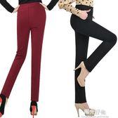 職業西裝褲夏天薄款小直筒長褲女新品彈力高腰百搭大碼褲女式黑色休閒褲子 陽光好物
