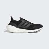 Adidas Ultraboost 21 W [FY0402] 女鞋 慢跑 運動 休閒 輕量 支撐 緩衝 彈力 黑 灰
