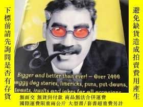 二手書博民逛書店The罕見Mammoth Book of jokesY21878