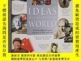 二手書博民逛書店History罕見of ideas ideas that shaped our world understandi