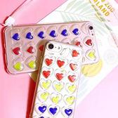 iPhone7 i6s i6 4.7 Plus 5.5 韓系 動態愛心 手機殼 掛繩軟殼 手機軟殼 全包覆 軟殼