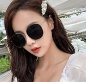 墨鏡女韓版潮防紫外線太陽鏡