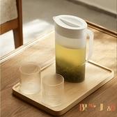 日式涼水壺家用大容量耐高溫防爆塑料冰箱冷水壺【倪醬小舖】