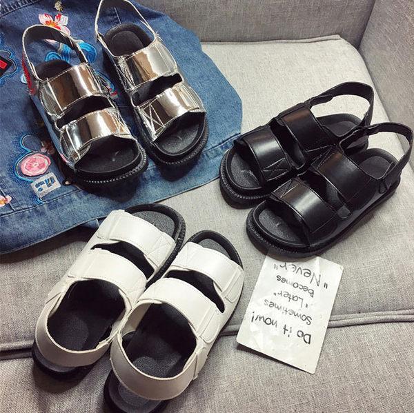 平底涼鞋 原宿多款式素面百搭平底涼鞋 艾爾莎【TSB8730】