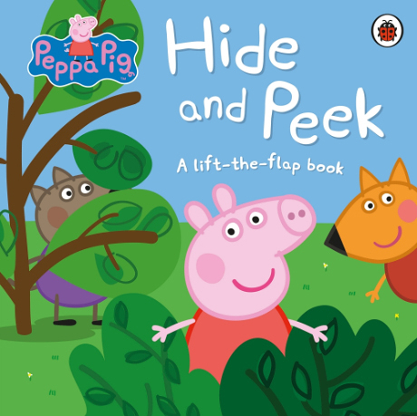 Peppa Pig:Hide And Peek A Lift-The-Flap Book 佩佩豬躲貓貓 精裝硬頁翻翻書