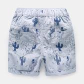 短褲子沙灘2018夏裝新款童裝寶寶兒童中褲【洛麗的雜貨鋪】