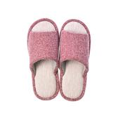戀戀冬日保暖室內拖鞋-熱情紅L