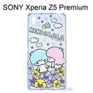 雙子星空壓氣墊軟殼 [花朵] SONY Xperia Z5 Premium E6853【三麗鷗正版授權】