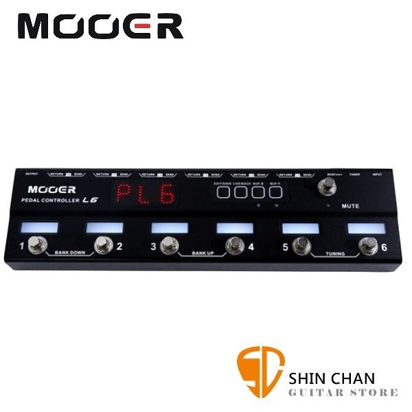 Mooer L6 踏板控制器【Loop 6/Pedal Controller/原廠公司貨一年保固】