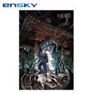 【日本正版】咒術迴戰 拼圖 300片 日本製 益智玩具 虎杖悠仁 ENSKY - 506780