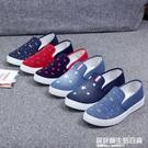 鞋子春季新款女鞋淺口鞋女平底帆布鞋懶人休閒鞋百搭老北京布單鞋 設計師生活