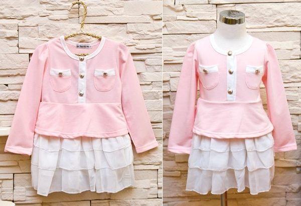 韓版《雪紡紗裙款》甜美小洋裝