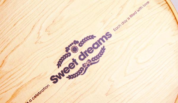 16CM  質感木紋 附棉紙底板 6吋 乳酪盒 起司蛋糕盒 包裝紙盒 外帶盒 禮盒 派盒【C003】