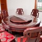 圓桌布圓桌酒店PVC防水防燙防油免洗透明桌墊圓形餐桌台布