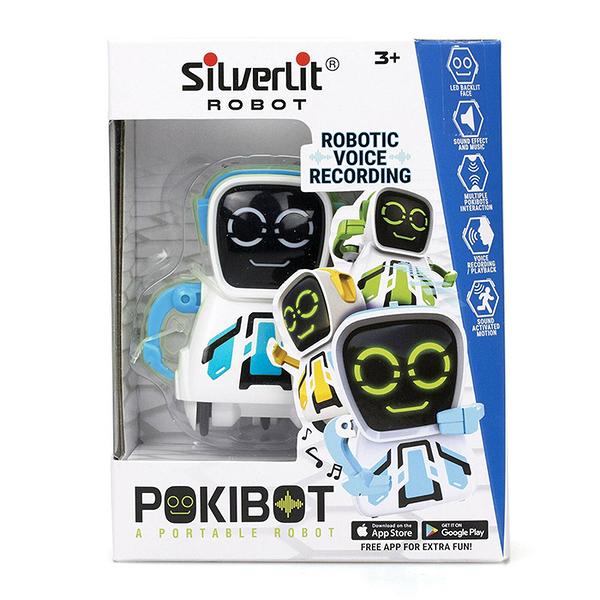 Silverlit ROBOT 方程式口袋機器人 方頭 (顏色隨機出貨) 【鯊玩具Toy Shark】
