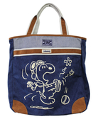 【卡漫城】 限量 Snoopy 肩背包 高40cm 深藍 ㊣版 香港限定版 行李 史奴比 史努比 旅行袋 手提袋