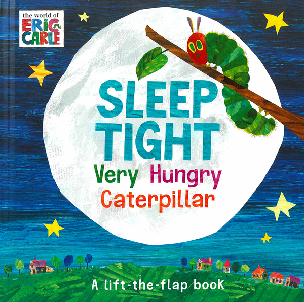 【麥克書店】SLEEP TIGHT VERY HUNGRY CATERPILLARD/硬頁翻翻書《Eric Carle》
