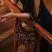 手提包-木珠子優雅復古時尚百搭女晚宴包73sn8[巴黎精品]