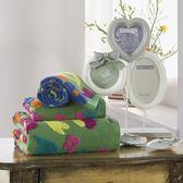 毛巾三件套含浴巾+毛巾-純棉親膚舒適色織提花衛浴用品2色72t30[時尚巴黎]